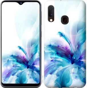 Чехол на Samsung Galaxy A20e A202F цветок