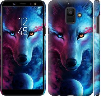 Чехол на Samsung Galaxy A6 2018 Арт-волк