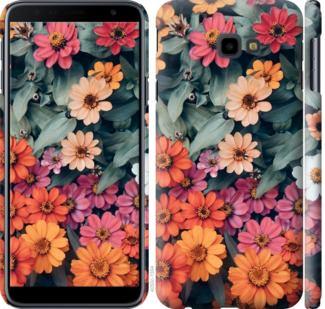 Чехол на Samsung Galaxy J4 Plus 2018 Beauty flowers