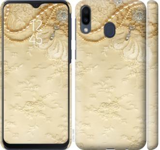 Чехол на Samsung Galaxy M20 Кружевной орнамент