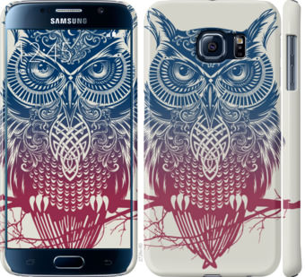 Чехол на Samsung Galaxy S6 G920 Сова 2