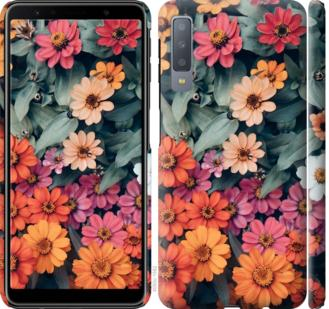 Чехол на Samsung Galaxy A7 (2018) A750F Beauty flowers