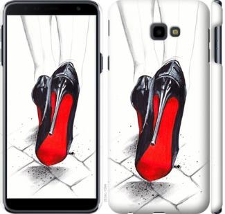 Чехол на Samsung Galaxy J4 Plus 2018 Devil Wears Louboutin