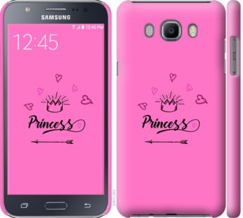 Чехол на Samsung Galaxy J7 (2016) J710F Princess