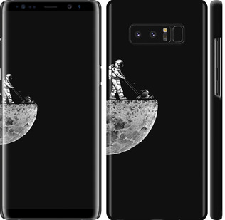 Чехол на Samsung Galaxy Note 8 Moon in dark