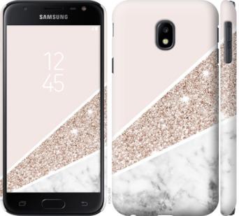 Чехол на Samsung Galaxy J3 (2017) Пастельный мрамор
