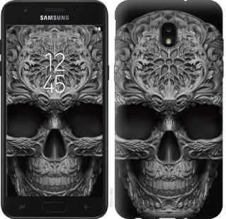 Чехол на Samsung Galaxy J7 2018 skull-ornament