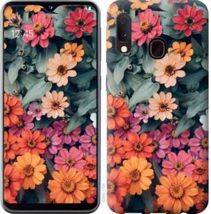 Чехол на Samsung Galaxy A20e A202F Beauty flowers