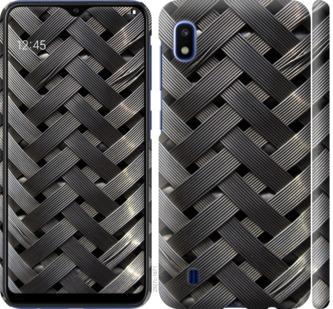 Чехол на Samsung Galaxy A10 2019 A105F Металлические фоны