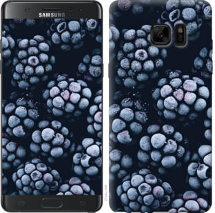 Чехол на Samsung Galaxy Note 7 Duos N930F Морозная ежевика
