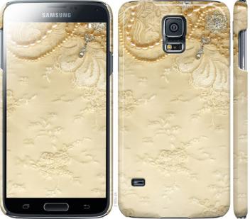 Чехол на Samsung Galaxy S5 g900h Кружевной орнамент