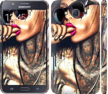 Чехол на Samsung Galaxy J7 J700H Девушка в тату