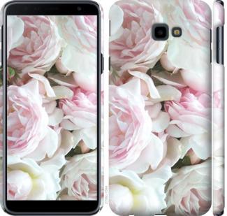 Чехол на Samsung Galaxy J4 Plus 2018 Пионы v2