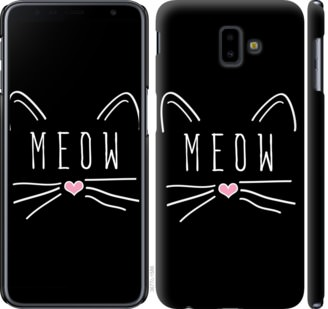 Чехол на Samsung Galaxy J6 Plus 2018 Kitty