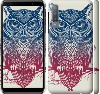 Чехол на Samsung Galaxy A7 (2018) A750F Сова 2