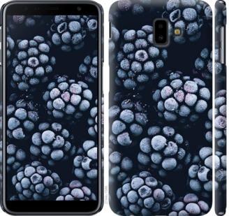 Чехол на Samsung Galaxy J6 Plus 2018 Морозная ежевика