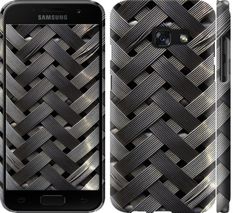Чехол на Samsung Galaxy A3 (2017) Металлические фоны