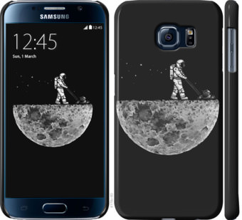 Чехол на Samsung Galaxy S6 G920 Moon in dark