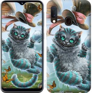 Чехол на Samsung Galaxy A20e A202F Чеширский кот 2