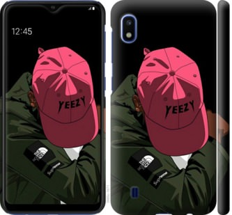 Чехол на Samsung Galaxy A10 2019 A105F logo de yeezy