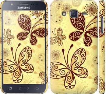 Чехол на Samsung Galaxy J5 (2015) J500H Красивые бабочки