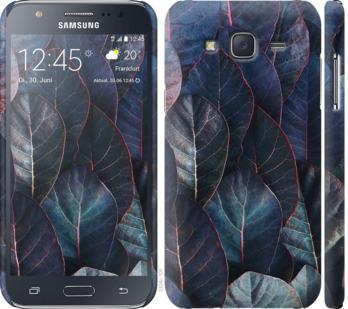 Чехол на Samsung Galaxy J5 (2015) J500H Листья v3