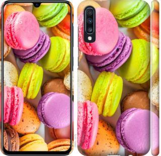 Чехол на Samsung Galaxy A70 2019 A705F Макаруны
