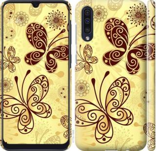 Чехол на Samsung Galaxy A50 2019 A505F Красивые бабочки