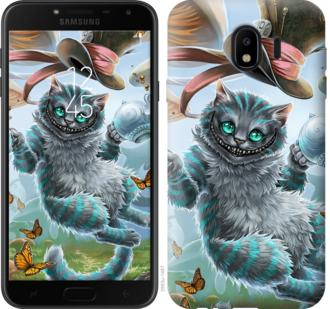 Чехол на Samsung Galaxy J4 2018 Чеширский кот 2