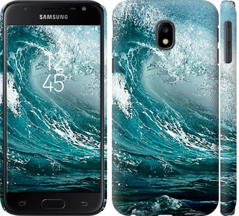 Чехол на Samsung Galaxy J3 (2017) Морская волна