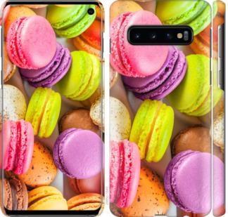 Чехол на Samsung Galaxy S10 Макаруны