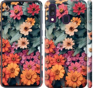 Чехол на Samsung Galaxy A40 2019 A405F Beauty flowers