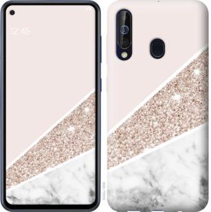 Чехол на Samsung Galaxy A60 2019 A606F Пастельный мрамор