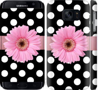 Чехол на Samsung Galaxy S7 G930F Горошек 2