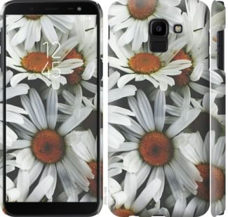 Чехол на Samsung Galaxy J6 2018 Ромашки v2