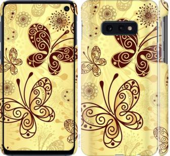 Чехол на Samsung Galaxy S10e Красивые бабочки