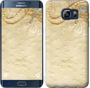 Чехол на Samsung Galaxy S6 Edge Plus G928 Кружевной орнамент
