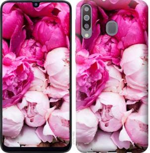 Чехол на Samsung Galaxy M30 Розовые пионы