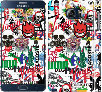 Чехол на Samsung Galaxy Note 5 N920C Many different logos