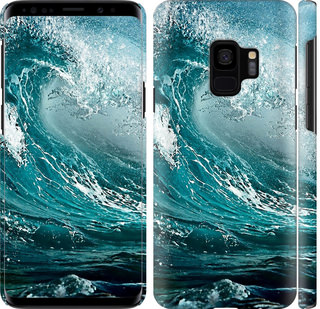 Чехол на Samsung Galaxy S9 Морская волна