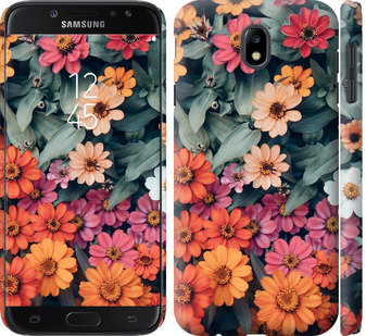 Чехол на Samsung Galaxy J7 J730 (2017) Beauty flowers