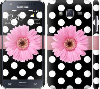 Чехол на Samsung Galaxy J5 (2015) J500H Горошек 2