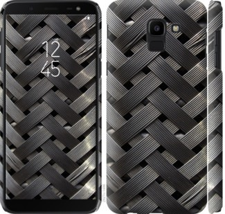 Чехол на Samsung Galaxy J6 2018 Металлические фоны