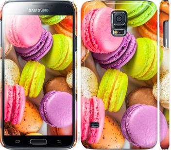 Чехол на Samsung Galaxy S5 g900h Макаруны