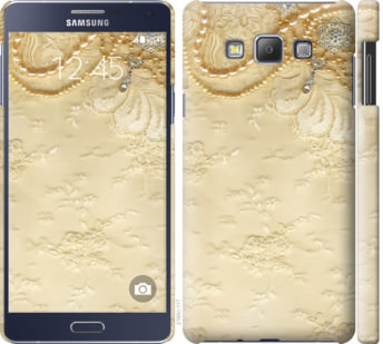 Чехол на Samsung Galaxy A7 A700H Кружевной орнамент