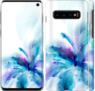 Чехол на Samsung Galaxy S10 цветок