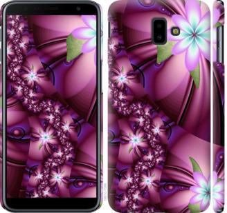 Чехол на Samsung Galaxy J6 Plus 2018 Цветочная мозаика