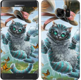 Чехол на Samsung Galaxy Note 7 Duos N930F Чеширский кот 2