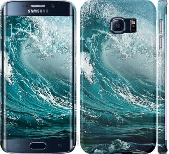 Чехол на Samsung Galaxy S6 Edge G925F Морская волна