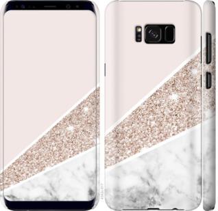 Чехол на Samsung Galaxy S8 Plus Пастельный мрамор
